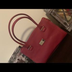Beauty and Power! Red Nine West Bag